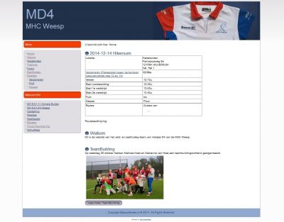 Team-site MD4 MHC Weesp
